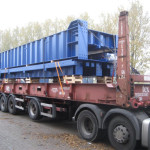 Overseas container transport